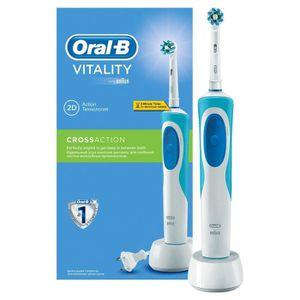 BROSSE A DENTS ÉLEC Oral-B Vitality Cross Action D12.513 brosse à dent