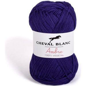 LAINE TRICOT - PELOTE Pelote de laine - AMBRE - Violet - 061 2,5 f30bccc27b2