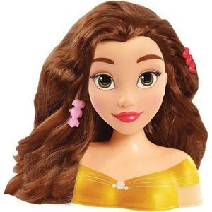 TÊTE À COIFFER Disney Tête à coiffer Princesse Belle