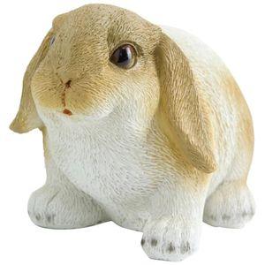 decoration de jardin lapin