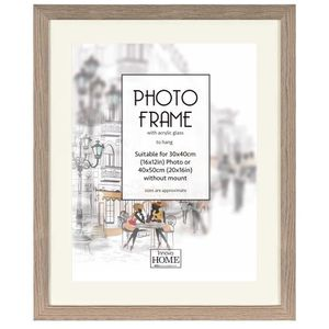 CADRE PHOTO BROCKWOOD ASH Cadre photo 40x50 cm bois