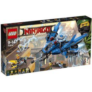 ASSEMBLAGE CONSTRUCTION LEGO® Ninjago Movie 70614 Le Jet supersonique de F