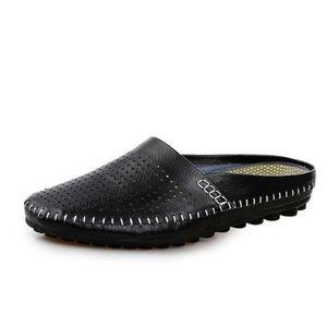 ESPADRILLE chaussures homme 2017 ete En Cuir Haut qualité Lux
