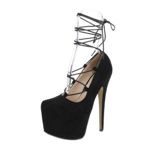 ESCARPIN Chaussures femme l'escarpin talons aiguilles Plate
