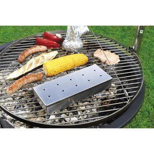 USTENSILE Boîte fumoir pour barbecue à gaz ou à charbon