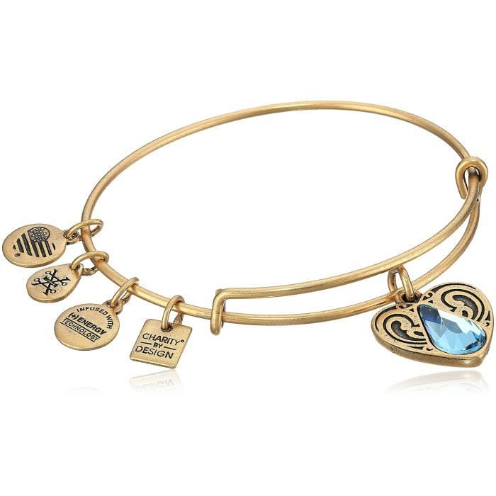 Alex And Ani Charity By Design Living Water Ii Bangle Bracelet DWUP7