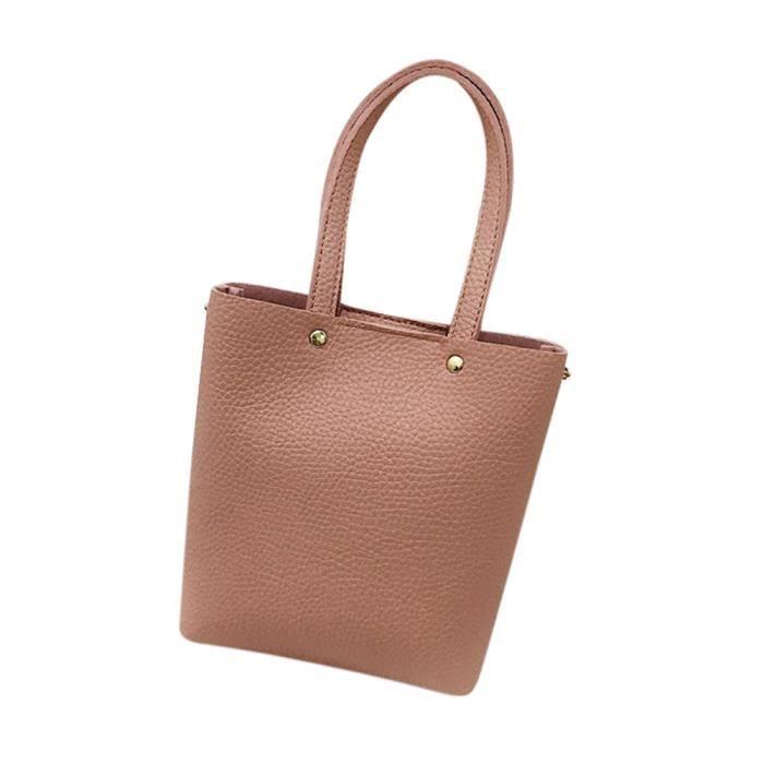 Provisions Femme Sac Cuir Pure L'épaule Shopping amp; À De Dedasing® love6523 Corssbody Mode Avec Rose En Couleur w0dtgnpq