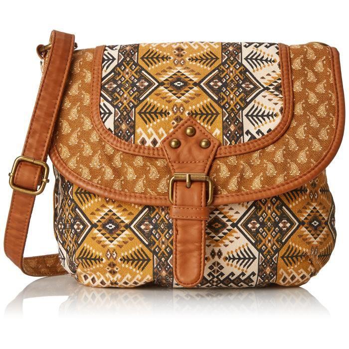 Craze léopard brillant imprimé animal boîte cartable sac à bandoulière sac à main (L049) Y1KYN