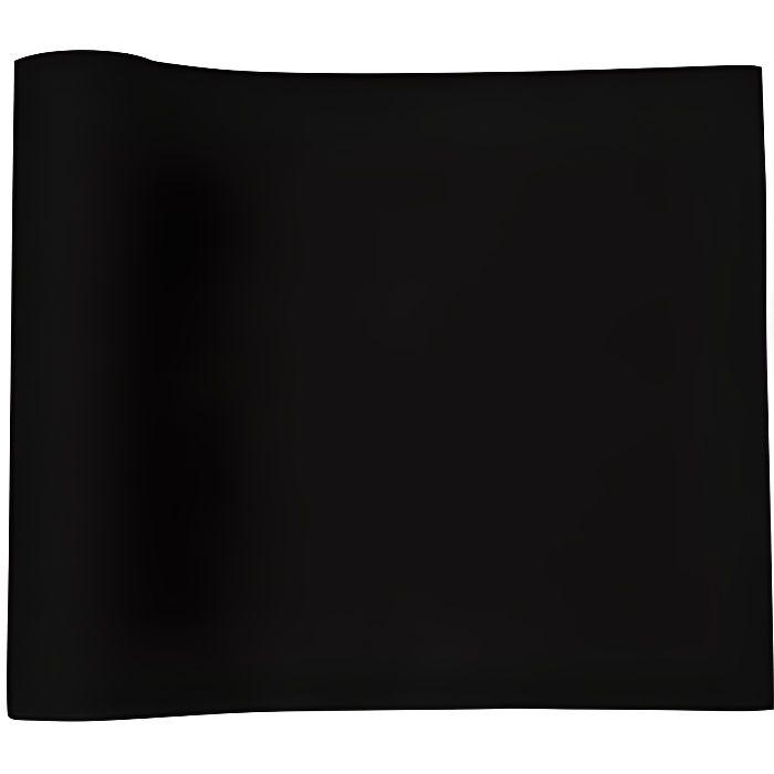 chemin de table noir jetable - achat / vente chemin de table noir