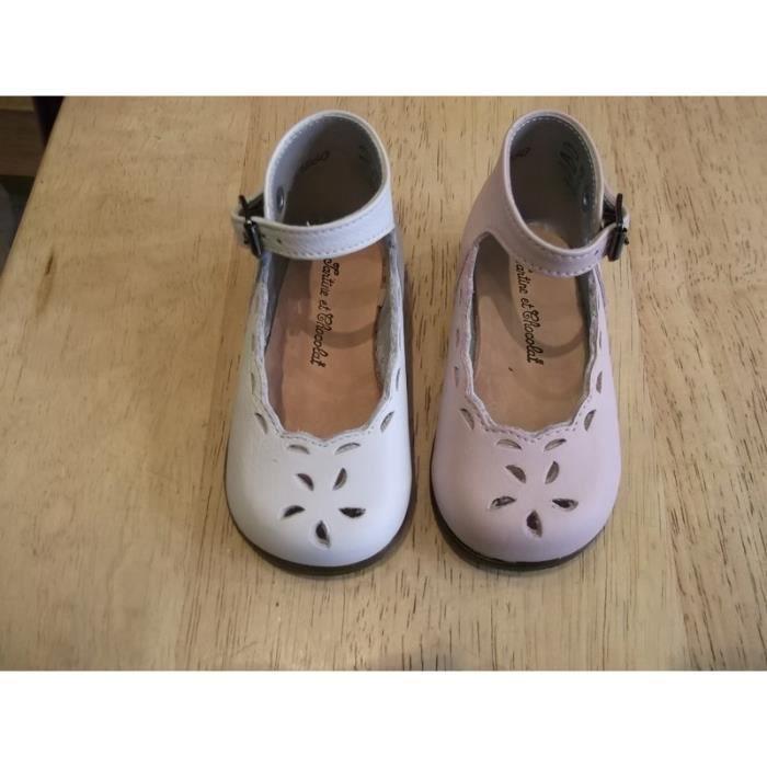 de776f333f472 Chaussures filles Babies bébés Little Mary P19 Rose rose - Achat ...