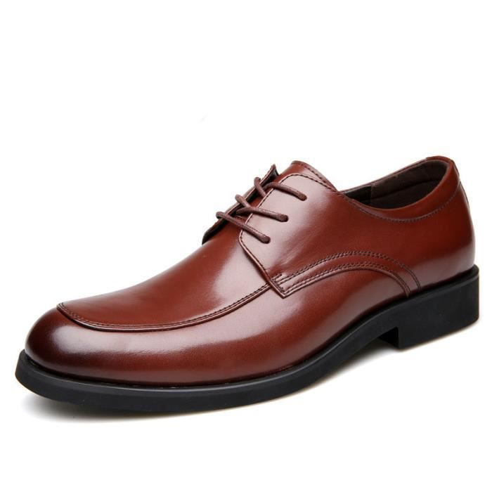 Mode casual chaussures hommes habillées chaussu...