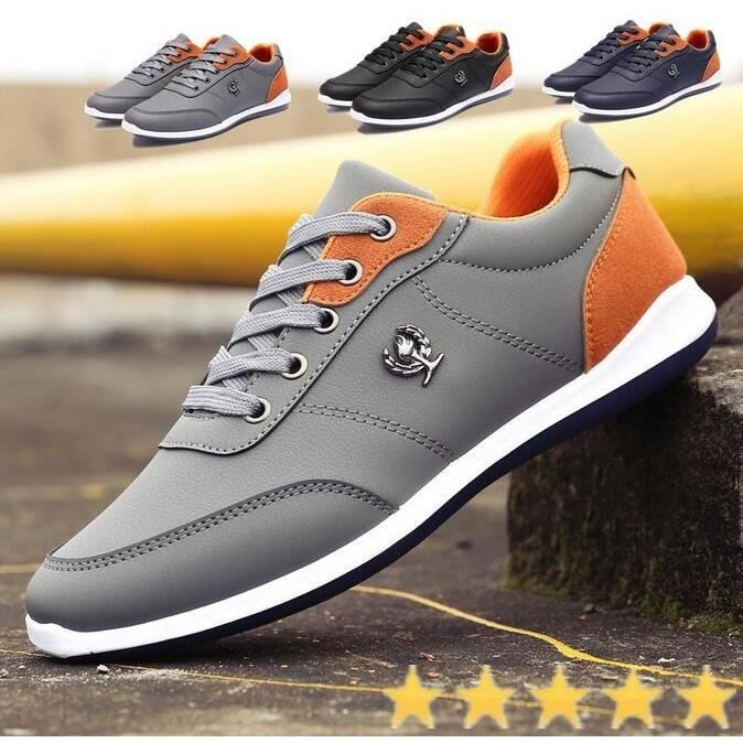 Mode Hommes Chaussures Casual Tenis Chaussures de sport Chaussures de sport pour homme Printemps Automne, mode Herr Chaussures