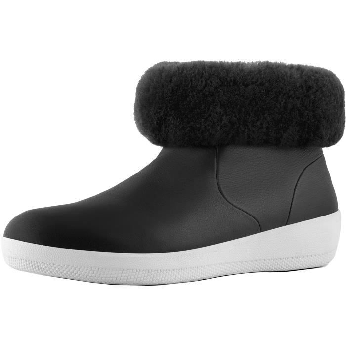 Skatebootie Leather Shearling Ankle Boot ILSR3 Taille-39 0eeDsWRs