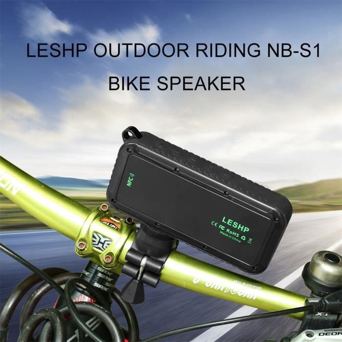 ENCEINTES ORDINATEUR LESHP NB-S1 Enceinte Bluetooth Sport Vélo Étanche
