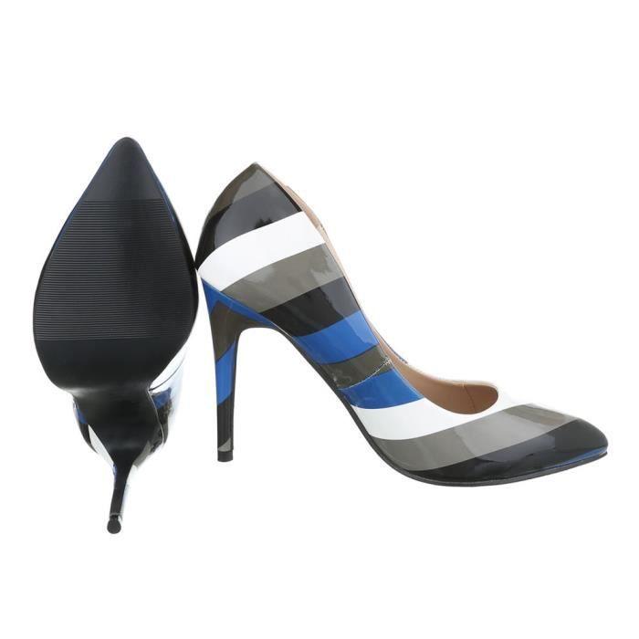 Femme chaussures escarpin High Heels noir Multi 39
