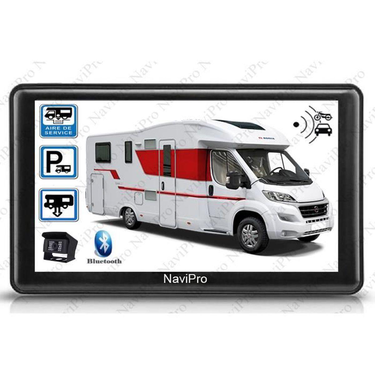 Gps camping car avec camera de recul sans fil - Achat   Vente pas cher c861bd21ac09
