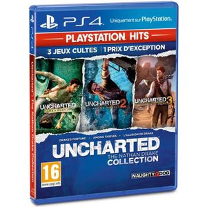JEU PS4 Uncharted : The Nathan Drake Collection PlayStatio
