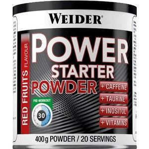WEIDER Sachet de Power Starter Poudre 400g