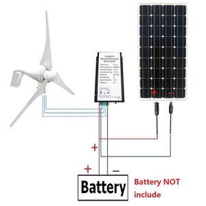 KIT PHOTOVOLTAIQUE ECOWORTHY 12 volts 500Watts Kit solaire de vent: o