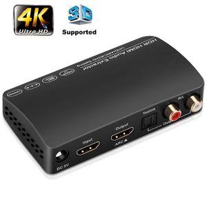 PACK TV COMBINÉ ET ACCESSOIRES Extracteur audio HDMI pour HDTV X-Box PS4 / 3 BD T
