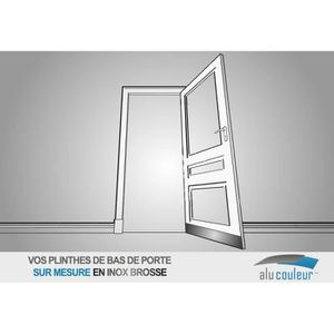 Protection Bas De Porte Achat Vente Pas Cher - Plinthe carrelage et tapis caoutchouc duster