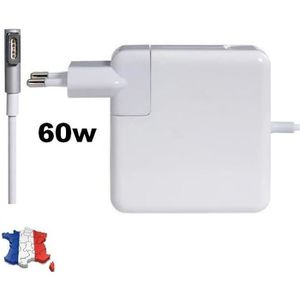 CHARGEUR - ADAPTATEUR  CHARGEUR GENERIQUE NEUF MAGSAFE 1 60W 16,5V 3,65A