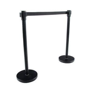 BUREAU  Mobilier bureau en métal de couleur noire OA00020