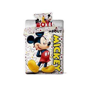 HOUSSE DE COUETTE ET TAIES Mickey Disney - Parure de couette 140x200 + taie d
