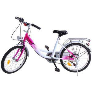VÉLO ENFANT Ridgeyard 20 Pouces 6 Vitesses Vélo Enfant garçons