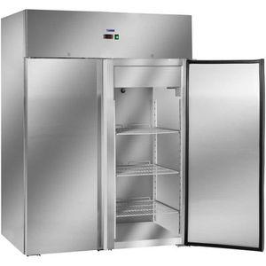 RÉFRIGÉRATEUR CLASSIQUE Frigo Réfrigérateur inox Royal Catering RCLK-S1200