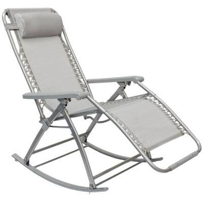 Berceuse Chaise longue berçante de AMANKA | Transat à bascule de ...