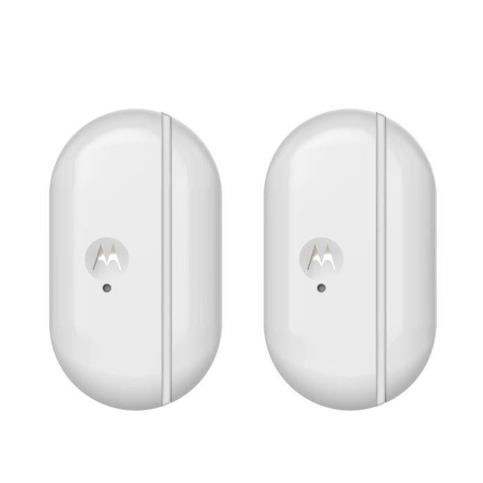 MOTOROLA Smart Nursery MBP81SN-2 Duo de capteurs connectés avec alertes pour portes et fenêtres