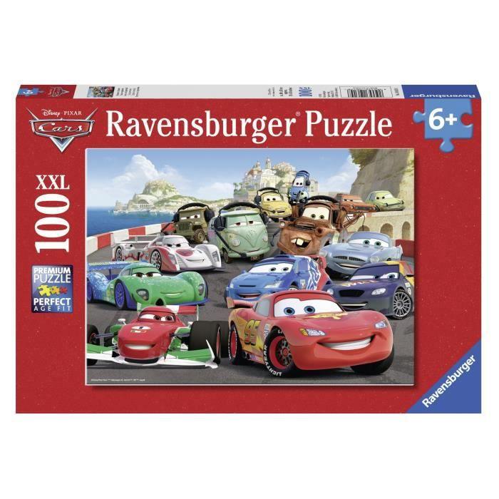 CARS Puzzle Course Explosive 100 pcs - Disney