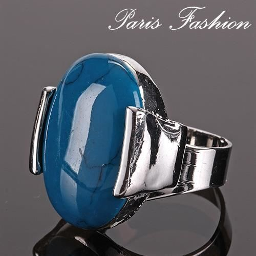 Bague pierre turquoise paris