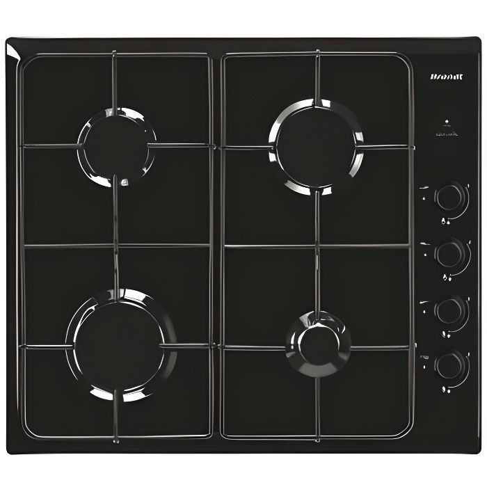 6 x Noir Loisirs four cuisinière plaque de cuisson et brûleur de boutons de contrôle commutateur