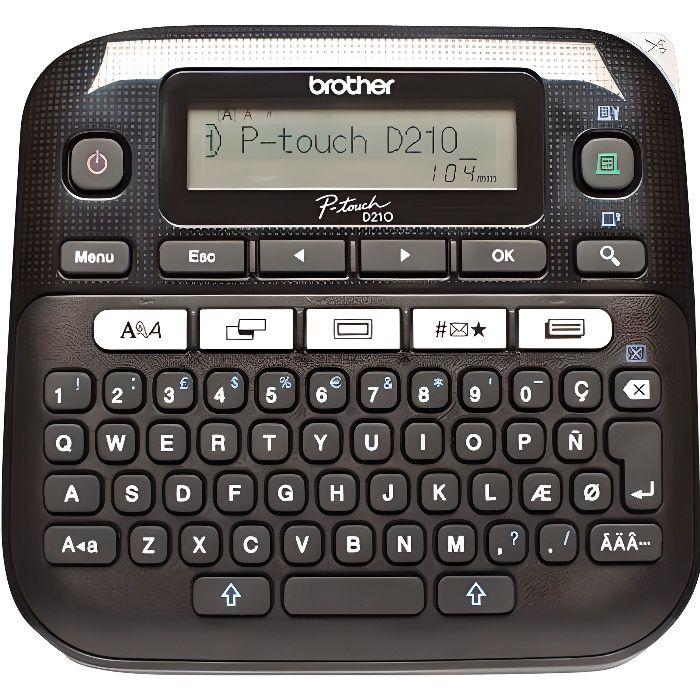 ETIQUETEUSE - TITREUSE Brother Etiqueteuse portable PT-D210 - Transfert t