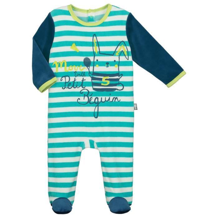 2624c3a05cd73 Pyjama bébé velours Biscuits - Taille - 36 mois (98 cm) Multicolor ...