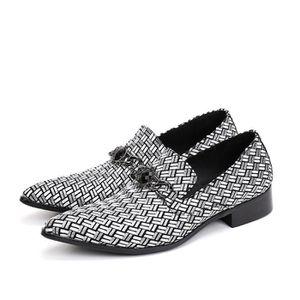 2017 Luxe Italien Véritable Hommes Chaussures en cuir Pointu dentelle Toe diseño formelles d'affaires Appartements de W69Wpvqvoo