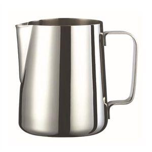 MOUSSEUR À LAIT  600ml Tasse Pot en acier inoxydable Verser le Lait