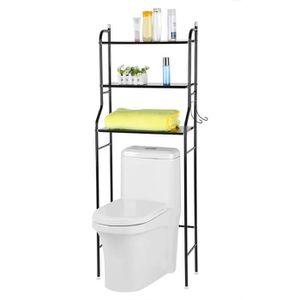 COLONNE - ARMOIRE WC Étagère à salle de bains meuble de rangement dessu