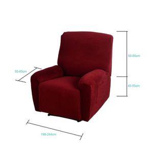 COUVERTURE - PLAID Couverture Couvercle recliner fauteuil élastique d