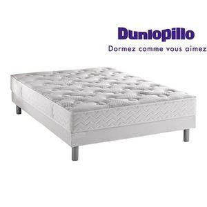 ENSEMBLE LITERIE Ensemble Dunlopillo matelas Aero luxe 160x200 + 2