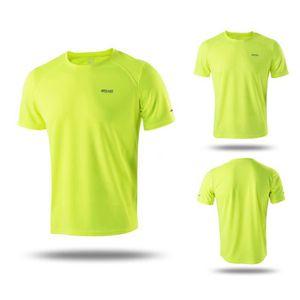 MAILLOT DE RUNNING manches courtes hommes sport chemise en cours d'ex