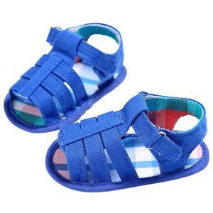 Frankmall®Enfants fille garçon Semelle molle berceau sandales nouveau-né Mode chaussures GRIS#WQQ0926493 PGOVeU