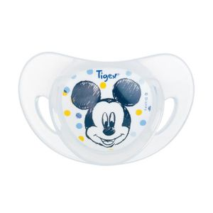 TÉTINE TIGEX  Mickey 2 Sucettes Physiologiques Silicone +
