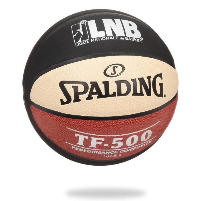 BALLON DE BASKET-BALL SPALDING Ballon Basket-ball TF 500 LNB BKT