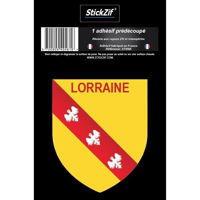 STICKZIF 1 Adhésif Blason Lorraine STR6B