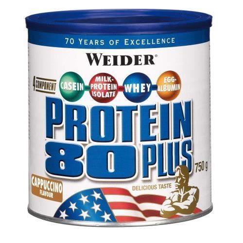 WEIDER Boîte de Protein 80+ Cappucino 750g