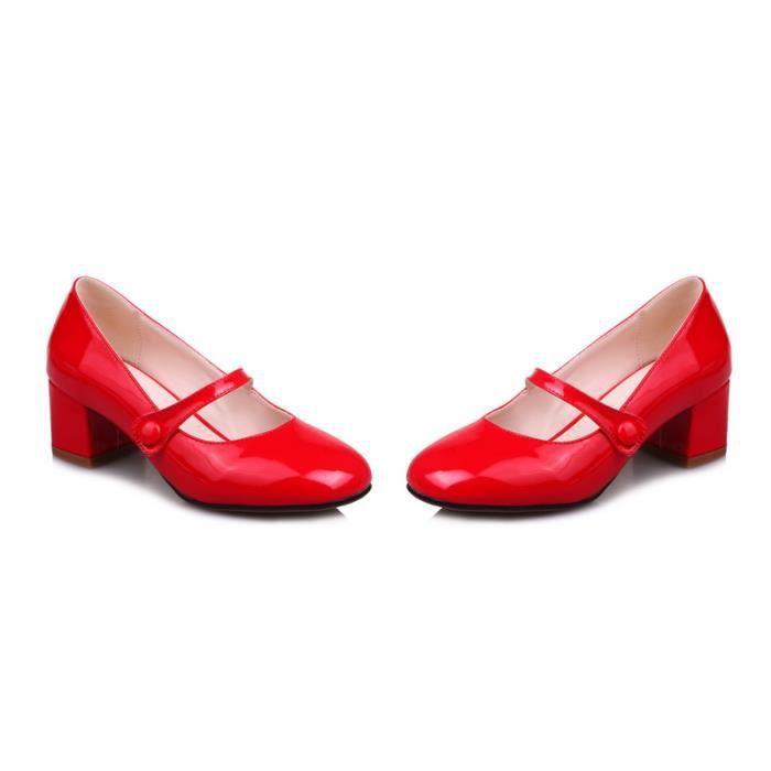 Femme Derby Cuir Chaussures Printemps Automne Jeune Femme Mariée Jeune Chic Tempérament Séduisante Individualité Simple Nouveau JgzajtEylI