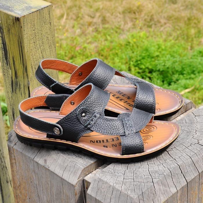 Sandales mode d'été pour hommes